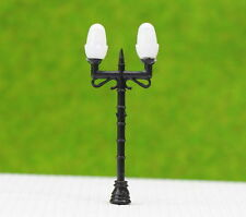 LNH35 20pcs Model Railway Lamppost lamps Street Lights HO OO TT Scale LEDs NEW
