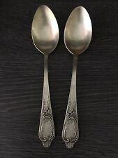 2 Tafellöffel 875er Silber, 20 cm