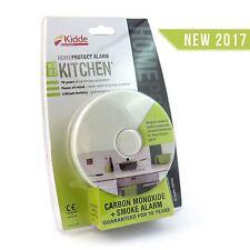 Kidde HomeProtect Kitchen Smoke Alarm + Carbon Monoxide Detector 10 Year Battery