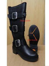 Harley-Davidson Boots Stiefel Damen Leder schwarz Gr. 39  84311 Bostwick  SALE