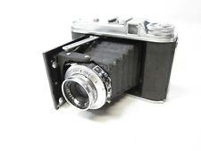 Vintage Voigtlander Pronto Vaskar Perkeo I 1:4.5/80 Camera Working Film 120-BII8