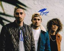 Cheat Codes In-person AUTHENTIC Autographed Group Photo COA SHA #96183