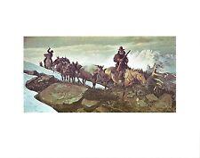 John Clymer Western Art THE GOLD TRAIN Cowboy Artists Art Print Lithograph