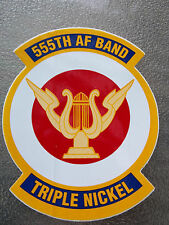 555th Air Force Band Sticker~New