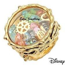 SALE Collectible Disney Couture TINKERBELL Pixie Tool Crystal Gold Plated Ring