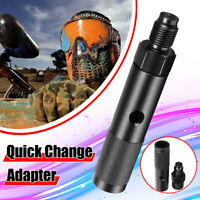 12g Gram Quick New Change CO2 Cartridge Adapter Black With 88g Bottle Threads