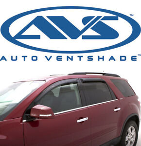 AVS 94141 Tape-On Window Shades Ventvisors 4-Piece 07-15 Lincoln MKX Ford Edge