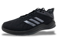 Adidas Speed Trainer 4 Black/Carbon Mens Baseball Trainer Turf Shoes CG5135 NEW
