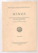 MINOS. Theses & studia philologica salmanticensia. Vol.1-fasc.2, 1951