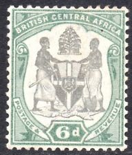 Nyasaland.  B.C.A.   6d  stamp.      Issued 1897,   SG. 46  mounted mint