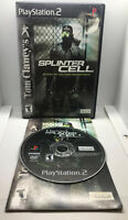 Splinter Cell - 1 - Complete - Tested & Works - Playstation 2 PS2