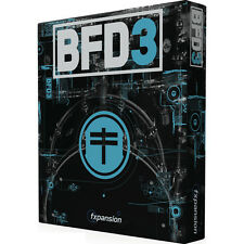 NEW FXPansion BFD 3 Virtual Acoustic Drum Sampler Pro Tools Cubase Plug In