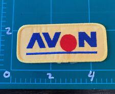 Vintage Avon Formula 1 Auto Racing Patch