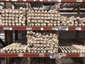 6 Wooden Blem Baseball Bats!  (FREE SHIPPING!)