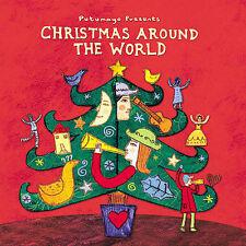 Putumayo Christmas Around the World CD Cuba Cajun France Barbados USA 2003 New