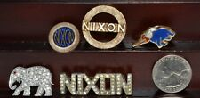 VINTAGE RICHARD M NIXON PRESIDENTIAL CAMPAIGN BLING LOT OF 5 REPUBLICAN PARTY