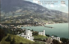 Valta du Cote Sud-Ouest Crimee Crimea c1910 Postcard