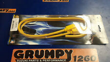 Yamaha TRX850 Taylor Lead Set Yellow/Use with Dyna Coil