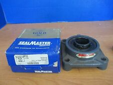 SEALMASTER~Lot of 2 Gold Line 4 Bolt Flange Bearing HI TEMP 375 Max~S-3101-MF23