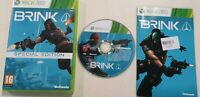 Brink Special Edition Game Xbox 360 VideoGames very good