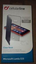 CELLULAR Line Clear Book/Wallet per Microsoft Lumia 535