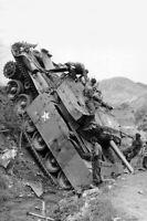 A Centurion Tank during the Korean War Photo WW2  4x6 inch z K