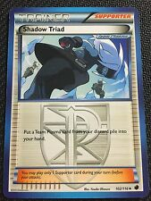 POKEMON TCG: BW PLASMA FREEZE 4 X SHADOW TRIAD 102/116 UNCOMMON