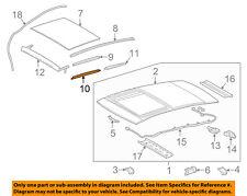 TOYOTA OEM 2018 Camry Sunroof-Side Molding Left 6321806060