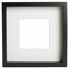 Ikea RIBBA Extra Deep Photo Picture Frame - Black 23cm x 23cm x 4.5cm