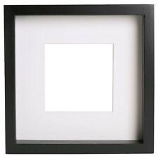 IKEA RIBBA extra profonda Cornice foto-nero 23cm x 23cm x 4.5cm