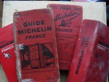 Guides michelin , quatre : de 1929 1961 1976 1995