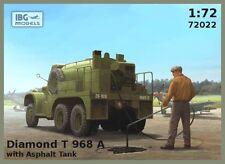 Diamond t 968 a avec asphalte tank-ww ii camion (armée britannique MKGS) 1/72 ibg