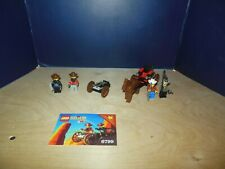 Lego Set 6799 Showdown Canyon 1997 Western Cowboy Lego Set 100% complete