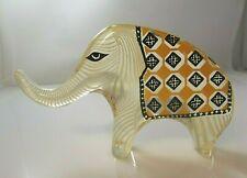 Vintage Abraham Palatnik Lucite Acrylic Elephant Sculpture Figurine Pal 2527