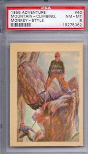 1956 Adventure Set # 40 Mountain Climbing Monkey Style NM-MT PSA 8