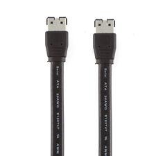 50CM External SATA ESATA to ESATA M/M  Shielded Data Cable Cord PC Motherboard