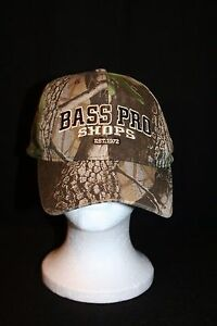 RED HEAD BASS PRO SHOPS EST 1972 CAMOUFLAGE CAMO HUNTING FISHING HAT CAP LID
