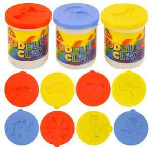 Modelling Clay Children Fun Red Blue Yellow Educational Present Toy Game Colours