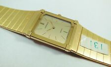 Lassale by Seiko Gold Tone Stainless Steel 6730-1570 Sample Watch NON-WORKING