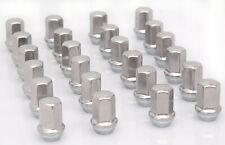 New Set Of 24 Gm Chevy Silverado Factory Polished 14x1.5 Lug Nuts 9596070