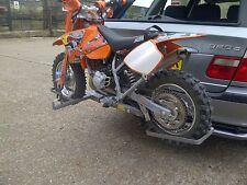 MOTORBIKE, MOTORCYCLE  BIKE RACK ,JUNIOR MODEL PIT BIKES   (SWAN NECK TYPE)