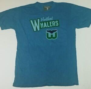 Hartford Whalers Vintage Officially Licensed Mens T-Shirt New Medium