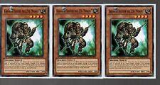 Yugioh Cards - Playset of 3x Karakuri Soldier MDL 236 Nisamu STBL-EN019 1st Ed