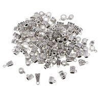 120PC Mixed Tibetan Connectors Spacer Bail Beads Charms DIY Jewelry Findings