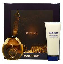 BOUCHERON BY BOUCHERON GIFT SET WITH EAU DE TOILETTE NATURAL SPRAY 50ML NIB