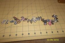 Lot Of Original Vintage Gumball Charms 0N String