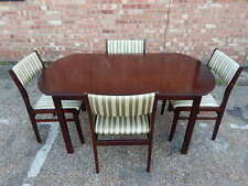 Mahogany Antique Style Piece Table & Chair Sets 5