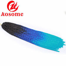 3 tone Synthetic Faux Locs Crochet Dread Locks Synthetic Marley Twist Braid Hair