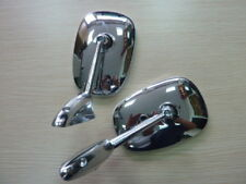 0037-Chrome Fender Door Back Mirror Pair Peugeot 504 404 403 304 203 1955 -1983