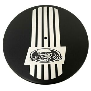 "14"" Round Air Cleaner Kit - Rat Rod Skeleton - Custom Engraved Billet Top"